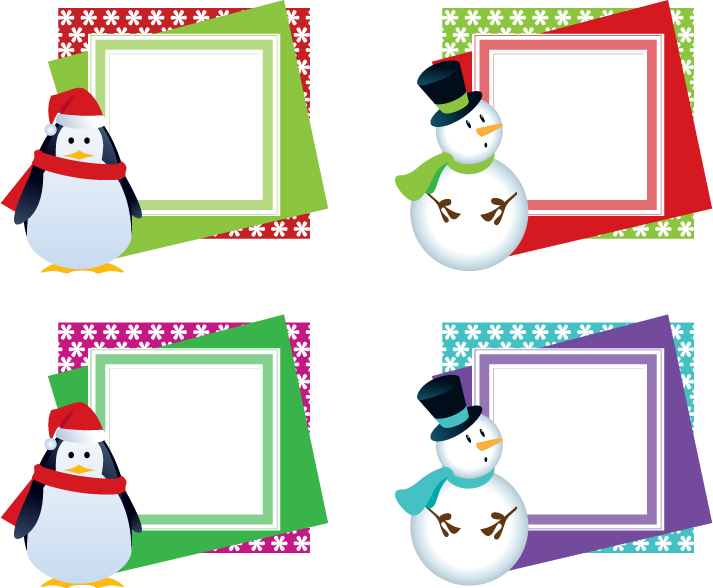 Stock Artwork - Christmas Frames