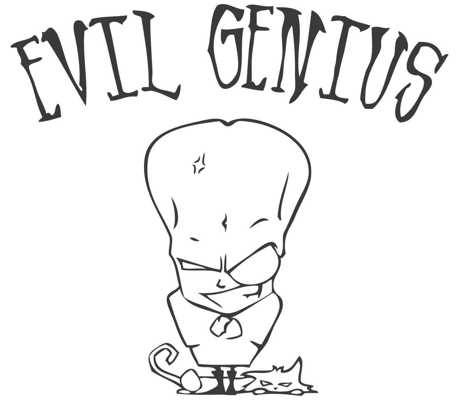 Stock Artwork - Evil Genius