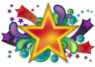 Stock Artwork - Groovy Stars