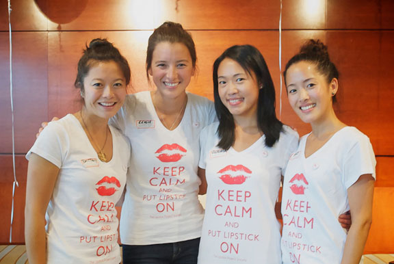 The Lipstick Project Digital T-shirt Printing from Make at Granville Island www.makevancouver.com