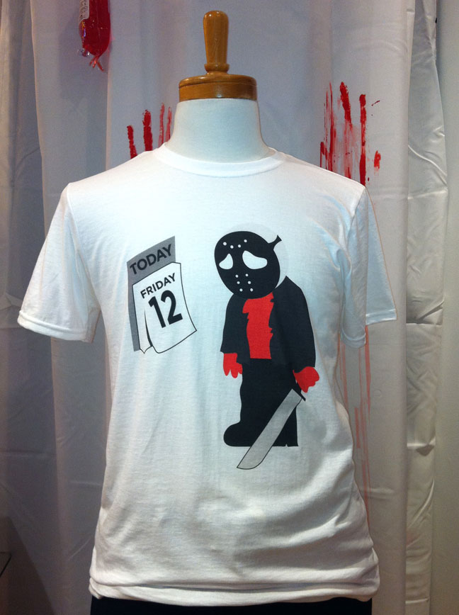 Funny Halloween Tshirts. Digital printed t-shirts Make at Granville Island, BC.
